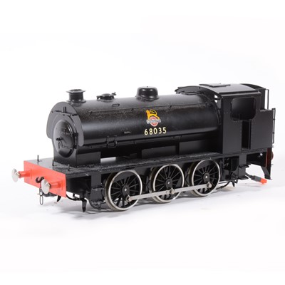 Lot 13 - Shanteng electric, gauge 1 / G scale, 45mm locomotive, 0-6-0 BR no.68035.