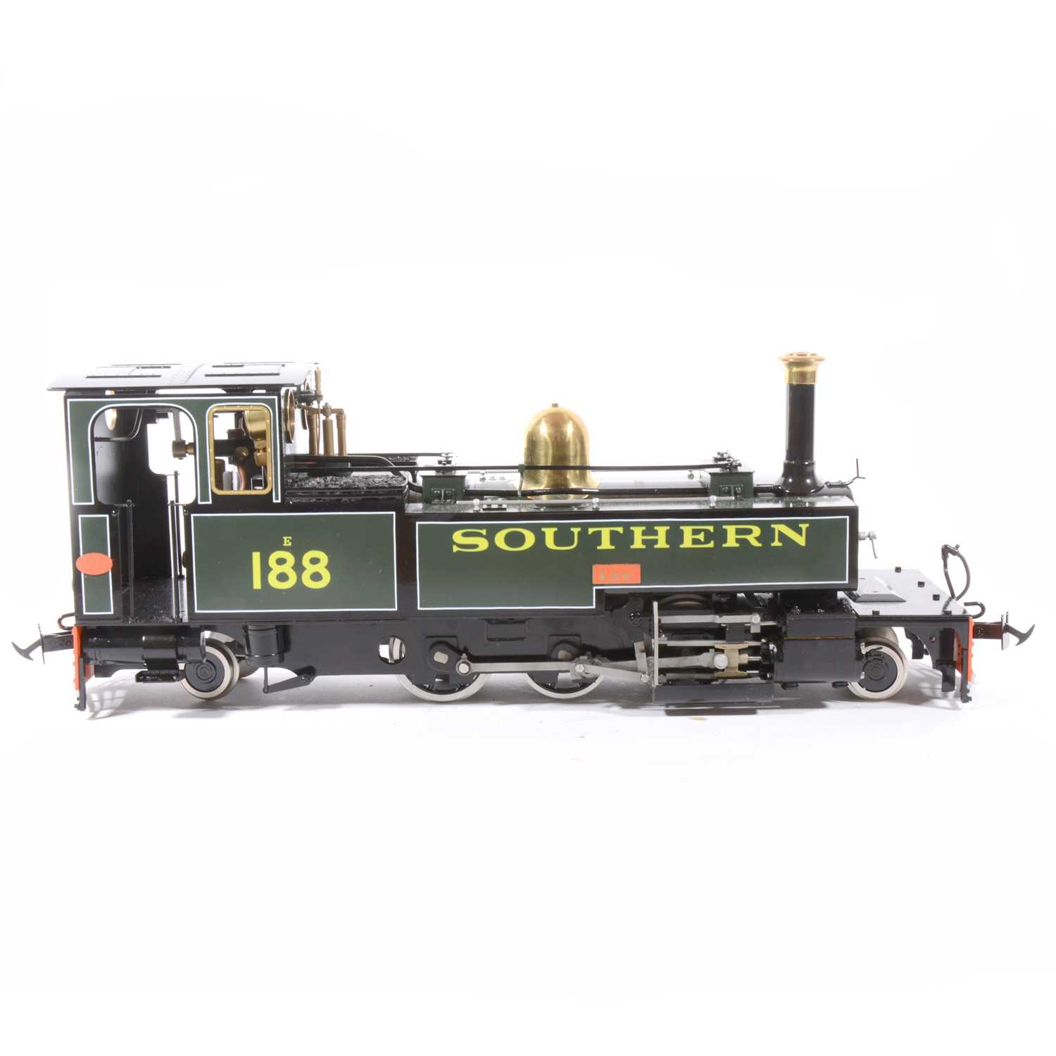 Lot 14-Accucraft live steam, gauge 1 / G scale, 45mm locomotive, L&B'LEW' 2-6-2T Southern no.188, with instructions, accessories and box.