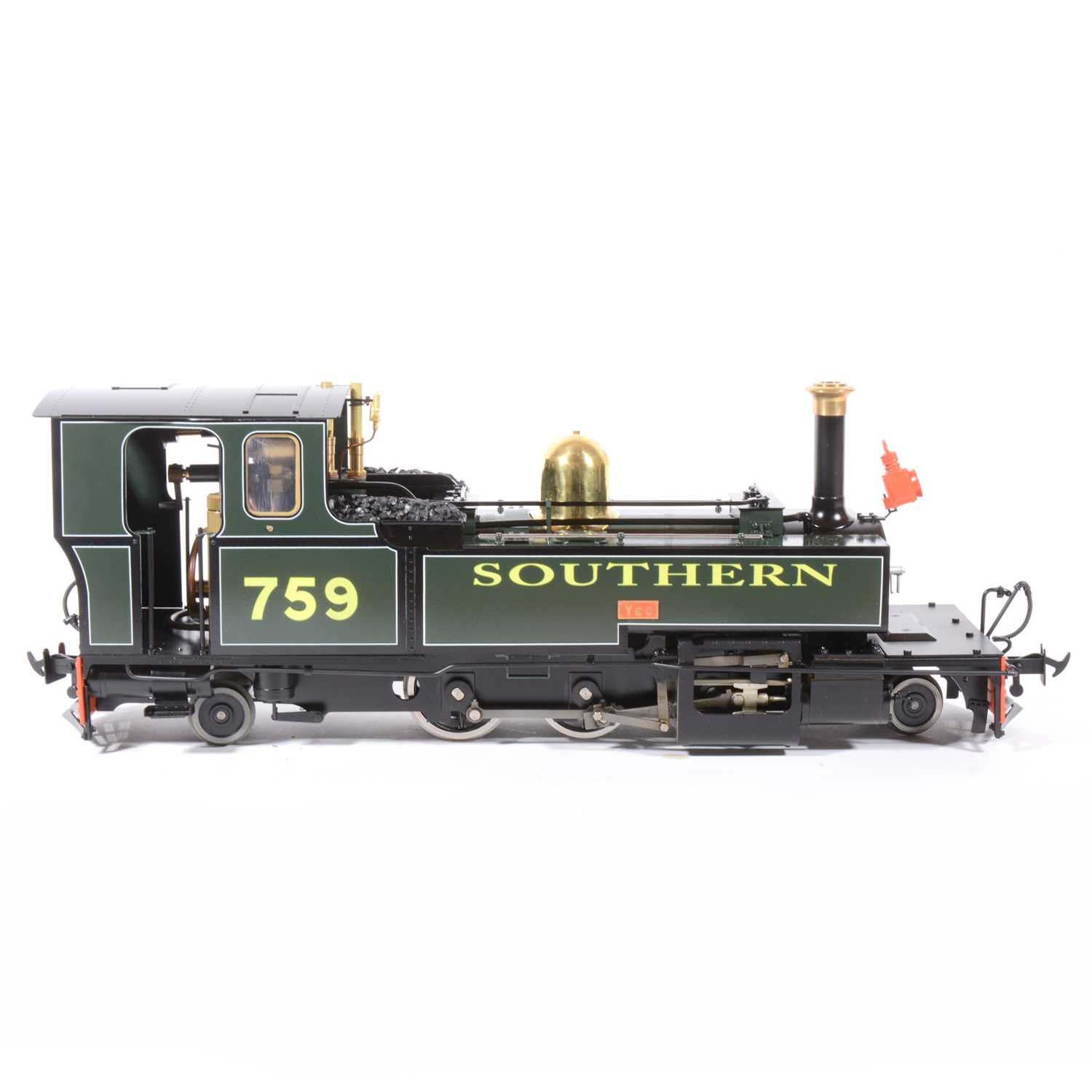Lot 17-Accucraft live steam, gauge 1 / G scale, 45mm locomotive, L&B 'Yeo' 2-6-2 Southern no.759, with instructions, accessories and box.