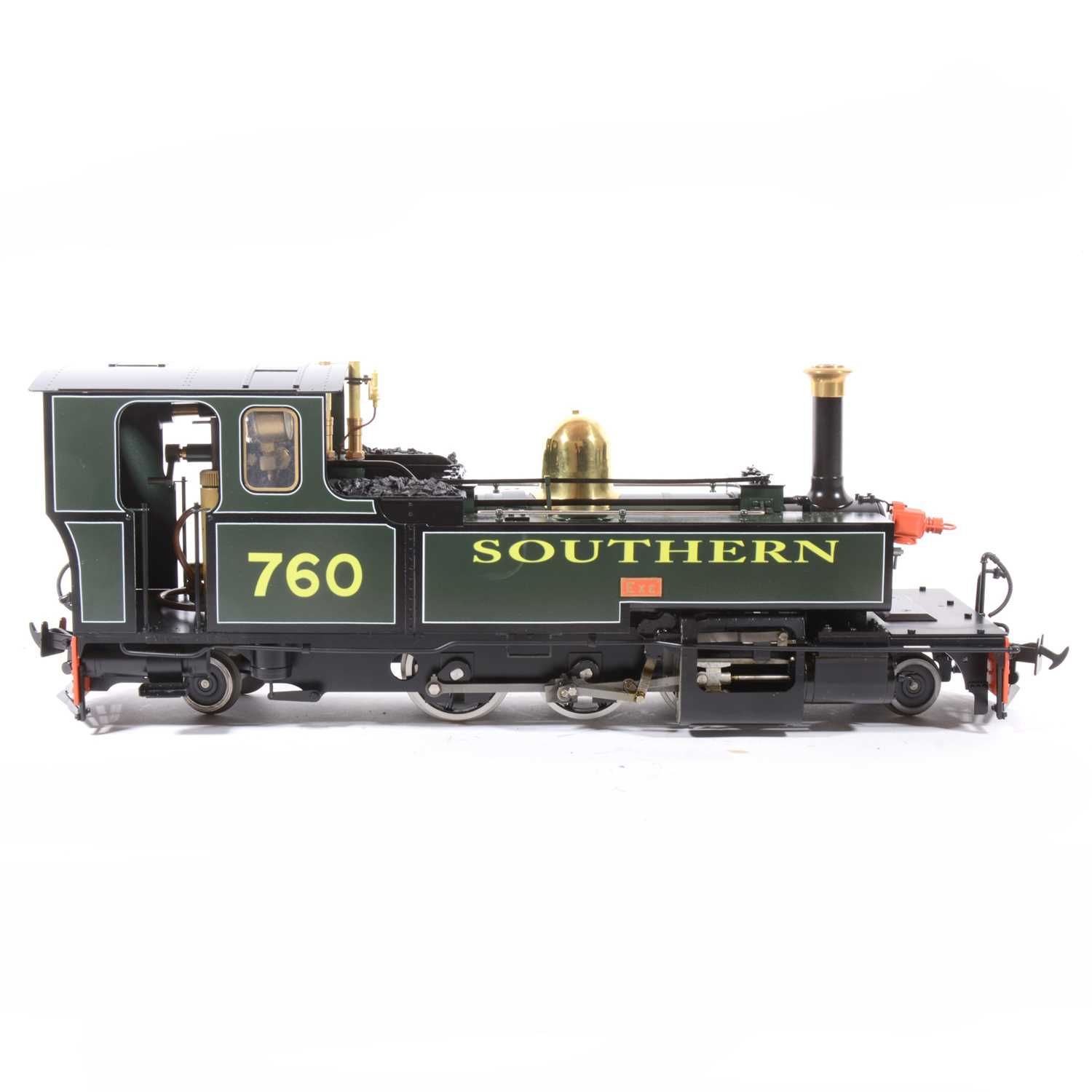 Lot 18-Accucraft live steam, gauge 1 / G scale, 45mm locomotive, L&B 'Exe' 2-6-2 Southern no.760, with instructions, accessories and box.