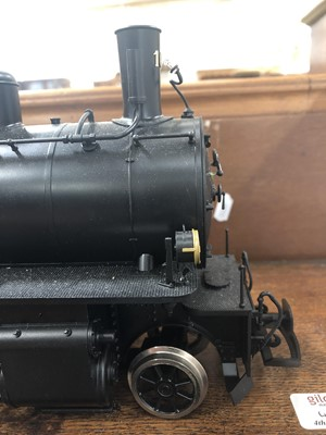 Lot 19 - Brawa electric, gauge 1 / G scale, 45mm locomotive and tender, Abyssinian Railway type RhB 4/5 no.108, with instructions and box.