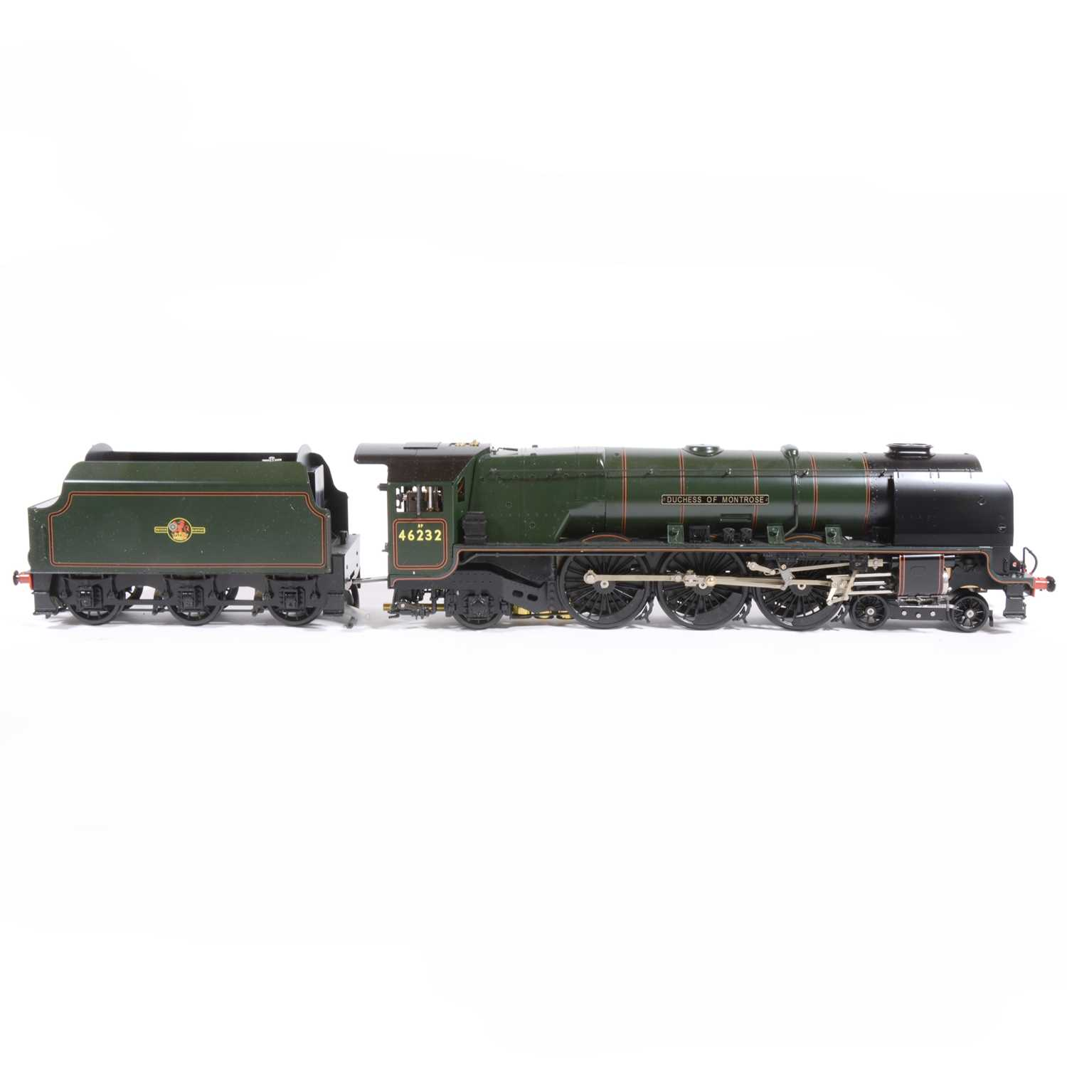 20 - Aster Hobby live steam, gauge 1 / G scale, 45mm locomotive and tender, 'Duchess of Montrose' 4-6-2 BR no.46232, in original packing, accessories and instructions.