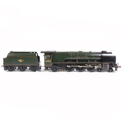 Lot 20-Aster Hobby live steam, gauge 1 / G scale, 45mm locomotive and tender, 'Duchess of Montrose' 4-6-2 BR no.46232, in original packing, accessories and instructions.