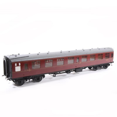 Lot 22-Tower Brass Models, gauge 1 / G scale, 45mm passenger coach, BR maroon no.M25476, boxed.