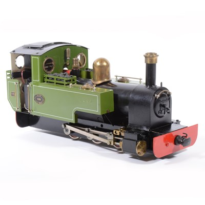 Lot 24-Roundhouse live steam, gauge 1 / G scale, 45mm locomotive, 'Lady Anne' 0-6-0.