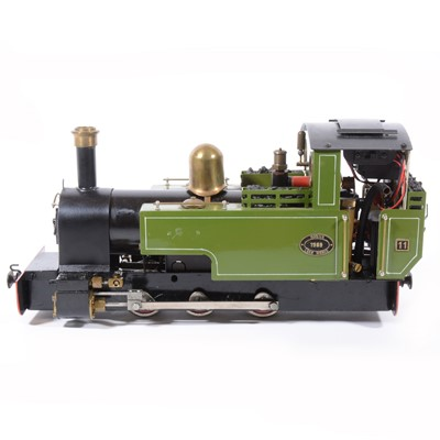 Lot 24-Roundhouse live steam, gauge 1 / G scale, 32mm locomotive, 'Lady Anne' 0-6-0.