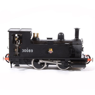 Lot 31-Accucraft live steam, gauge 1 / G scale, 45mm locomotive, BR B4 Early emblem 0-4-0T no.30089, with instructions, acessories and box.