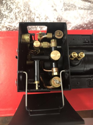 Lot 31 - Accucraft live steam, gauge 1 / G scale, 45mm locomotive, BR B4 Early emblem 0-4-0T no.30089, with instructions, acessories and box.