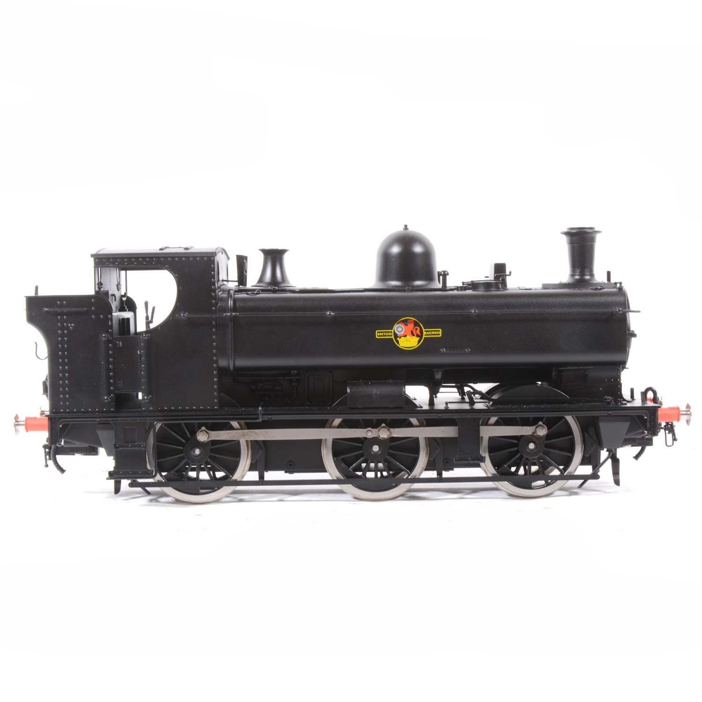Lot 32 - Bachmann Brassworks electric, gauge 1 / G scale, 45mm locomotive, Class 57xx pannier tank, 0-6-0, BR black, in box.