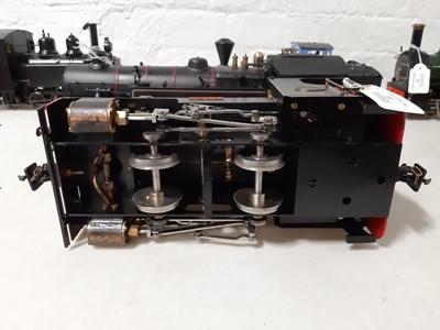 Lot 33 - Roundhouse live steam, gauge 1 / G scale, 32mm locomotive, 'Jacqui' 0-4-0, black.