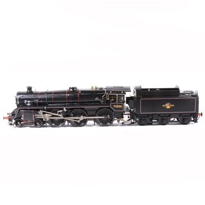 Lot 43-Aster Hobby live steam, gauge 1 / G scale, 45mm locomotive and tender, BR Standard Class 5 Mixed Traffic 4-6-0 no.73050, black, in carry case.