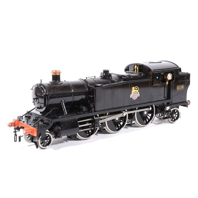 Lot 45-Accucraft live steam, gauge 1 / G scale, 45mm locomotive, 61XX Early Emblem, 2-6-2T BR no.6106, with box.