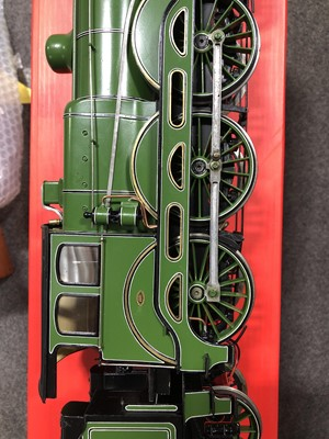 Lot 50 - Finescale steam, gauge 1 / G scale, 45mm locomotive and tender, B12 LNER no.8507, 4-6-0, green, in wooden case, with RC