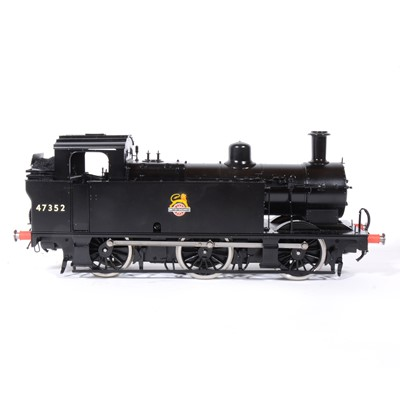 Lot 51-Bachmann Brassworks electric, gauge 1 / G scale, 45mm locomotive, 0-6-0, Jinty, BR black, in box, with RC.