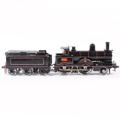 Lot 53-Aster Hobby live steam, gauge 1 / G scale, 45mm locomotive and tender, 'Jumbo' Hardwicke, LNWR no.790, with wooden case.