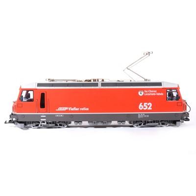 Lot 84 - LGB electric, G scale, RHB Ellok GE 4/4 III locomotive, no.26420, boxed.