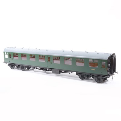Lot 67-Tower Brass Models, gauge 1 / G scale, 45mm passenger coach, BR green no.S24315, boxed.