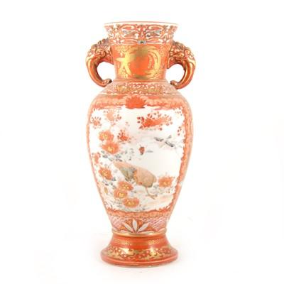 Lot 1001-A Japanese Kutani vase