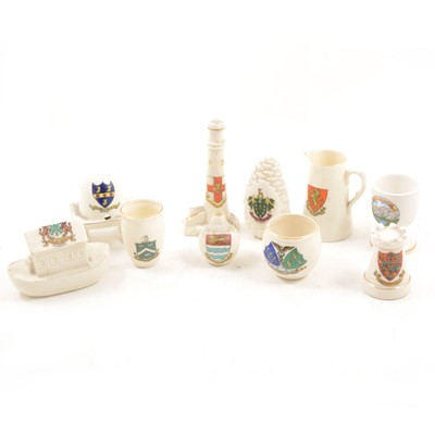 Lot 1030-A quantity of created china