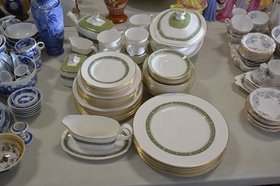Lot 25-Royal Doulton Rondelay H5004 pattern tea and dinner service