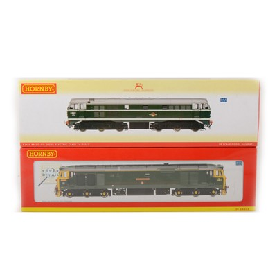 Lot 500 - Two Hornby OO gauge locomotives; R2420 and R2408