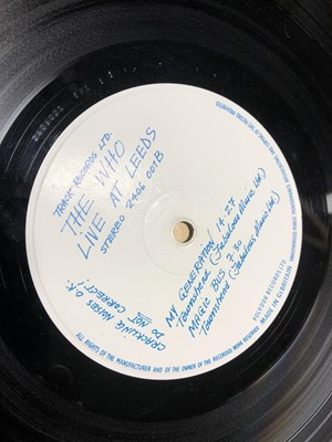 Lot 16-Three The Who Vinyl LP Records