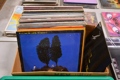 """Lot 11-Aprox 95 vinyl LP and 12"""" singles; mostly pop and rock music."""