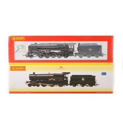 Lot 507 - Two Hornby OO gauge model railway locomotives, R2403 and R2200.