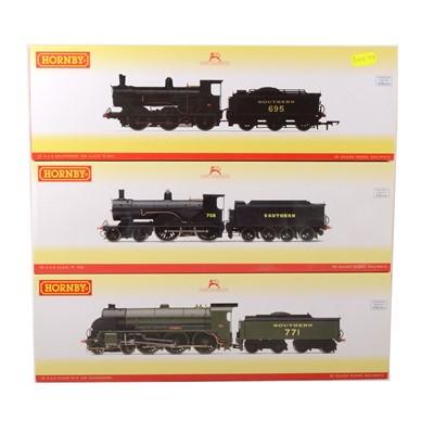Lot 508 - Three Hornby OO gauge model railway locomotives, R3010, R3108 and R3238.