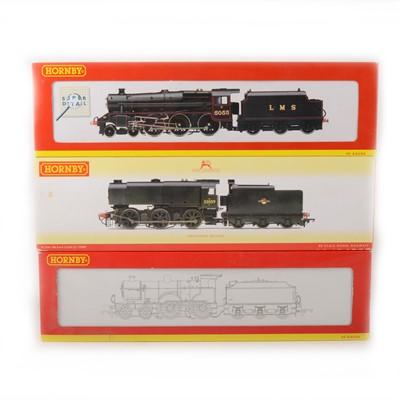 Lot 513 - Three Hornby OO gauge model railway locomotives, R2183A, R2257 and R2344.