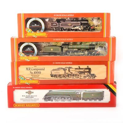 Lot 516 - Four Hornby OO gauge model railway locomotives, R062, R350, R060, R355.