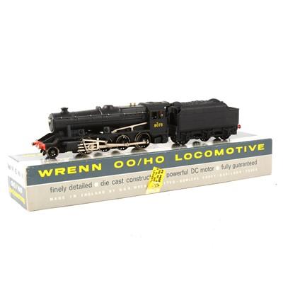 Lot 523 - Wrenn Railways OO gauge model railway locomotive W2225A class 8F BR black no.8073