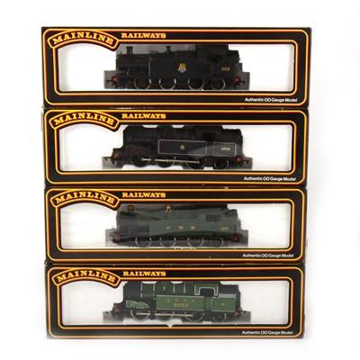 Lot 540 - Four Mainline Railways by Palitoy OO gauge model locomotives; 54155, 54154, 37039, 37038.