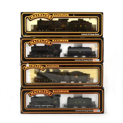 Lot 542 - Four Mainline Railways by Palitoy OO gauge model locomotives, 370957, 54157, 937514, 37-059.