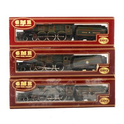 Lot 546 - Three Airfix OO gauge model railway locomotives, (x2) 54125-5 and 54124-2.