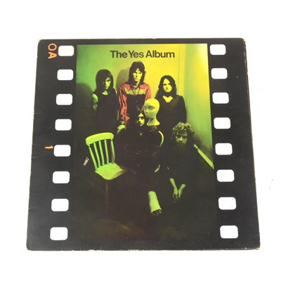 Lot 18-The Yes Album LP vinyl record; Stereo first pressing 2400101, A1/B1 matrix, plum Atlantic label.