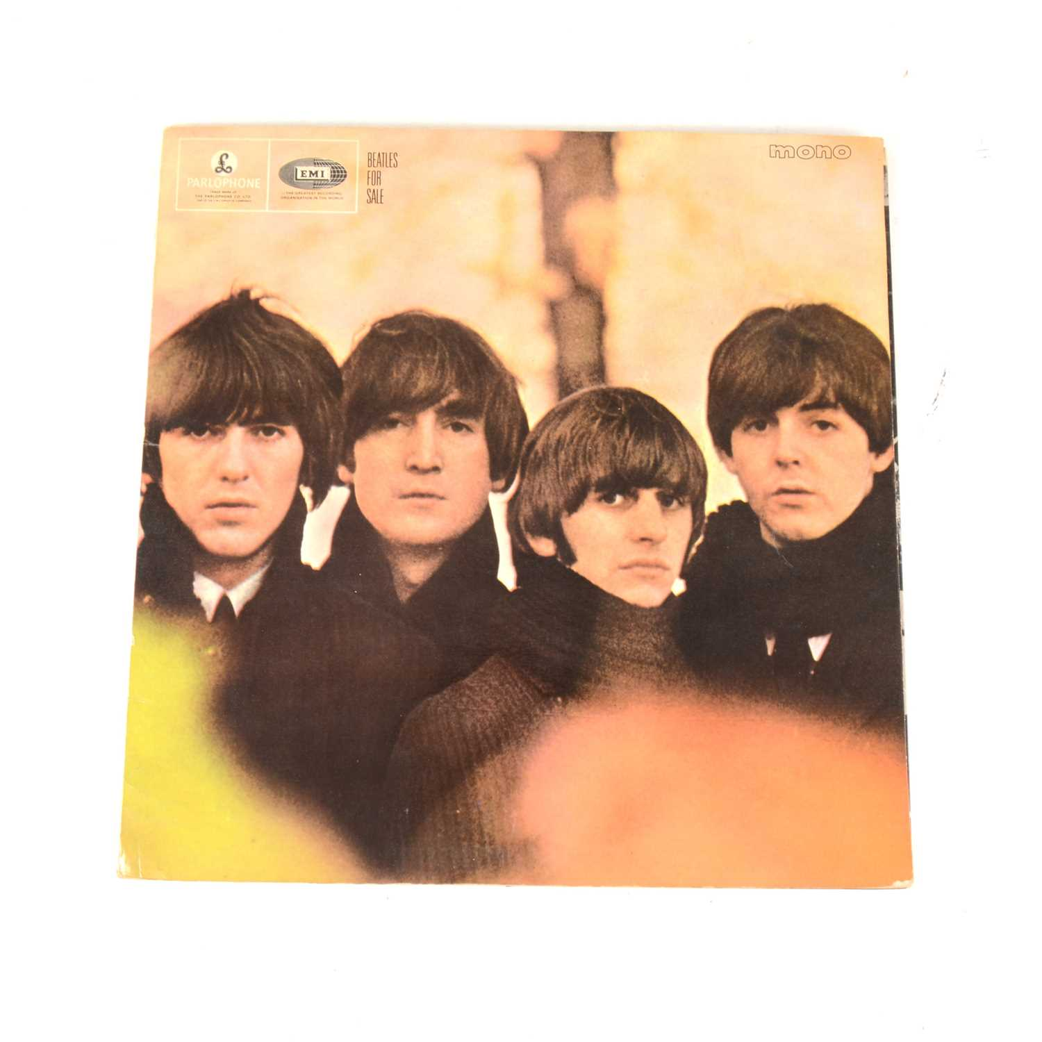 Lot 9-The Beatles For Sale LP vinyl record; first mono pressing PMC 1240, matrix 503-4N/504-4, Emitex sleeve.