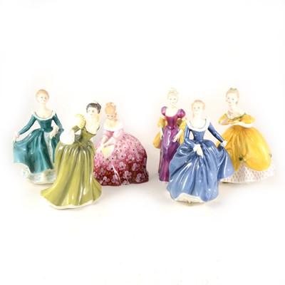 Lot 1039-Royal Doulton figure, Sweet Anne, HN1496, 19cm;...