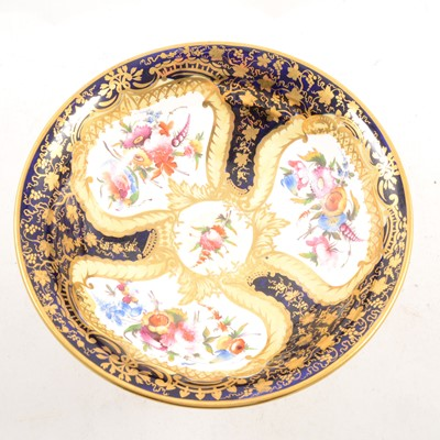 Lot 14-A Staffordshire porcelain comport, probably Davenport, third quarter of the 19th Century