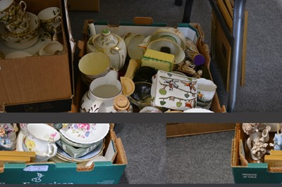 """Lot 30-A Royal Doulton """"Poppy"""" tea service for six, and other decorative ceramics."""