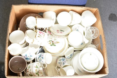 Lot 36-Collection of decorative china, including Worcester; Wedgwood; Minton, etc.