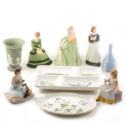 Lot 32-Franklin porcelain Marie Antoinette, 91cm