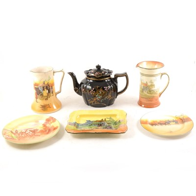 Lot 41 - A quantity of Royal Doulton seriesware, teapots and other ceramics.