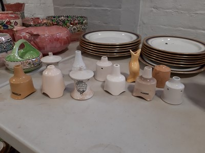 Lot 45-A collection of seventy-one pie funnels.