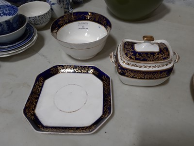 Lot 22-Spode part teaset, early 19th Century