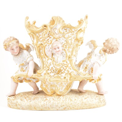 Lot 22-French porcelain jardiniere