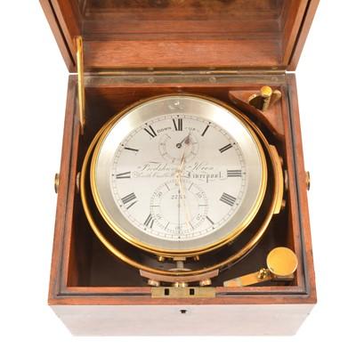 Lot 239 - A marine chronometer