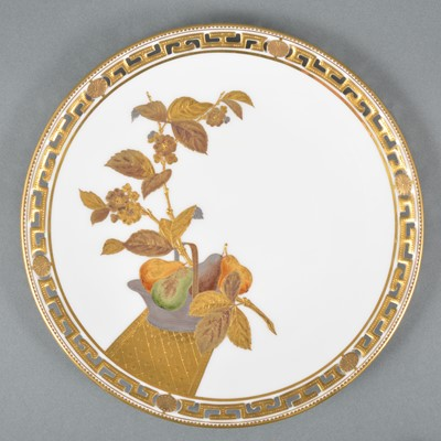 Lot 5-A set of twelve Minton dessert plates
