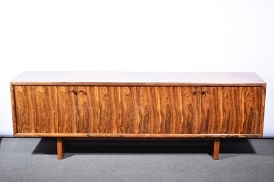 Lot 1078 - Rosewood dining room suite, by Gordon Russell Ltd, circa 1970s.