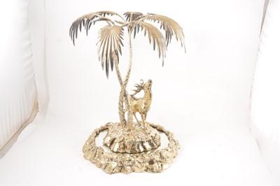 Lot 60 - An Elkington & Co gilt metal table centre piece